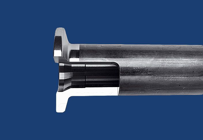 Flange shaft